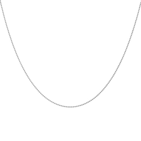 Ballayer Necklace | Silver