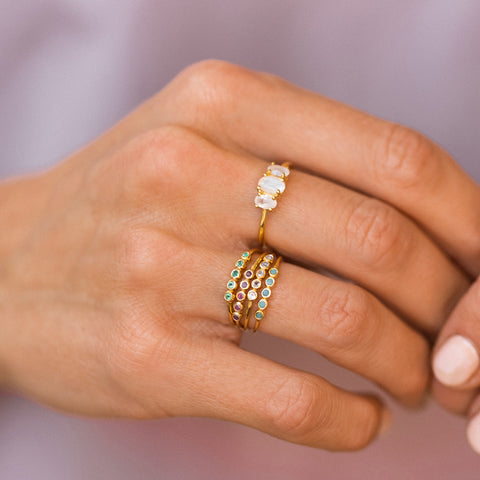 Ellipsis Ring | CZ
