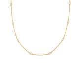 Floatesse Necklace | White CZ