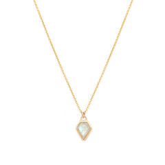 Gem Necklace | Moonstone