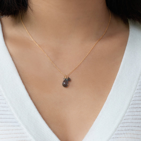 Isabel Necklace | Labradorite
