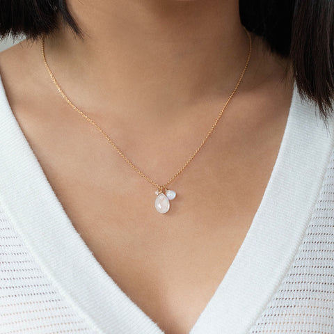 Isabel Necklace | Moonstone