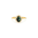 Mini Antiquity Ring | Emerald