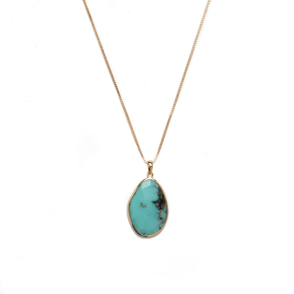 One of a Kind Necklace | Turquoise