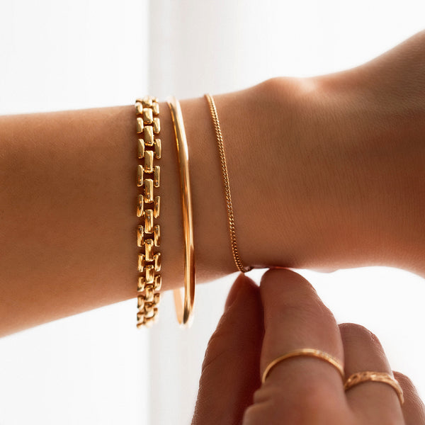 Panther Chain Bracelet | Gold