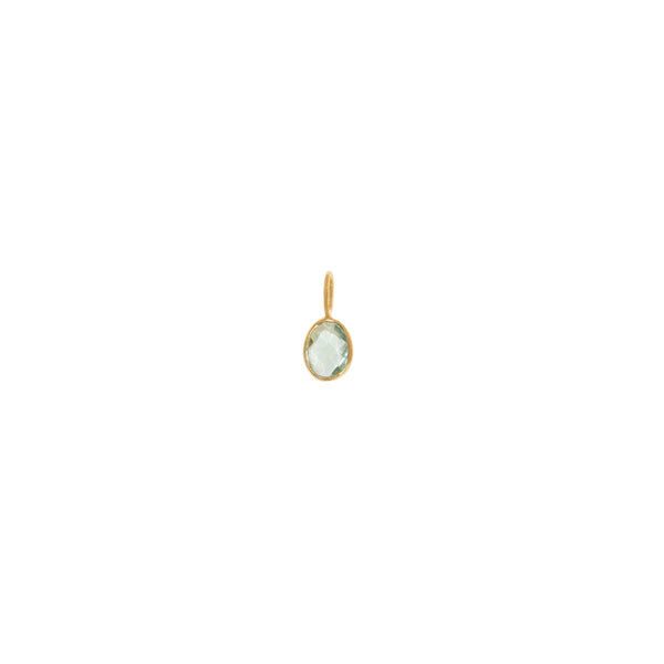 Gem Charm | Light Green Tourmaline