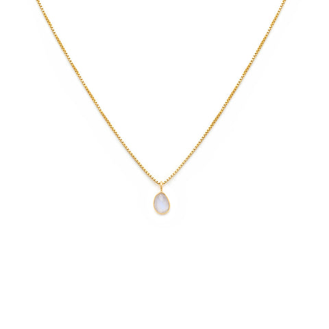 Sofia Slice Necklace | Moonstone