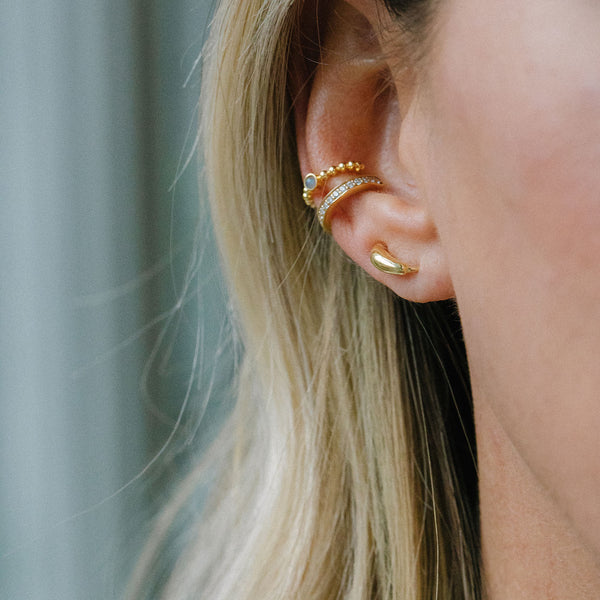 The Ear-Ring | 14k Gold