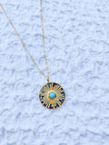 Costa Necklace- Turquoise