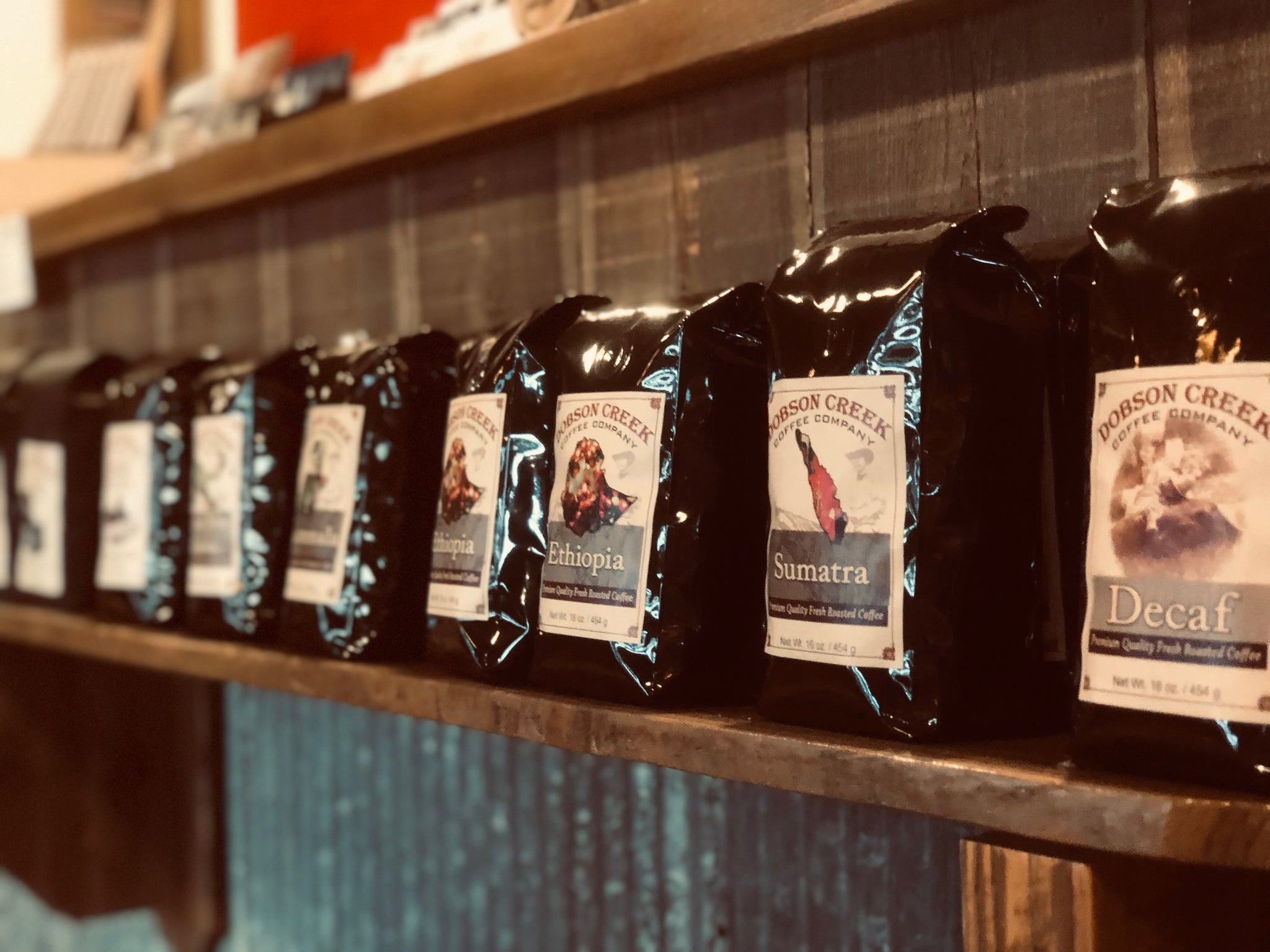 Image result for dobson creek coffee bags
