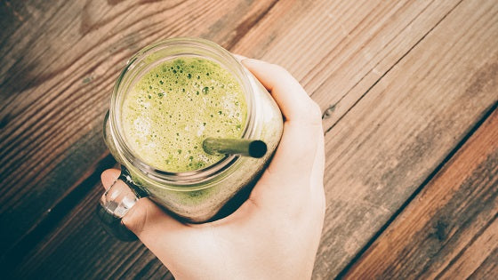 Cilantro-Mango Green Smoothie Detox