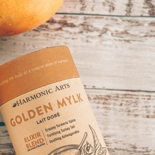 Golden Mylk Mango Smoothie