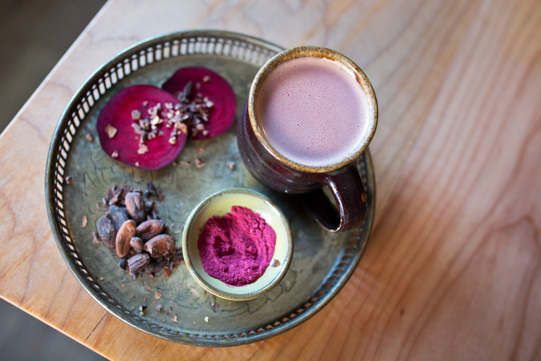 Chocolate Beet Latte