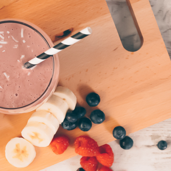 Banana Berry Radiance Smoothie