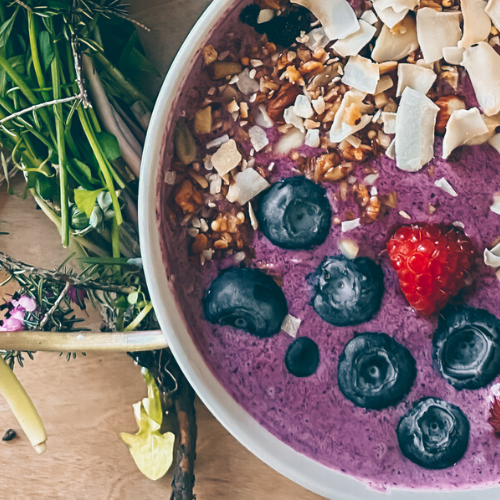 Radiance Beet Smoothie Bowl