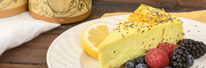 Golden Mylk 'Cheese' Cake