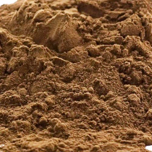 A closeup of Raw Cacao Powder