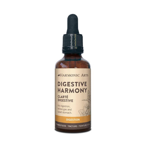 A bottle of Digestive Harmony tincture