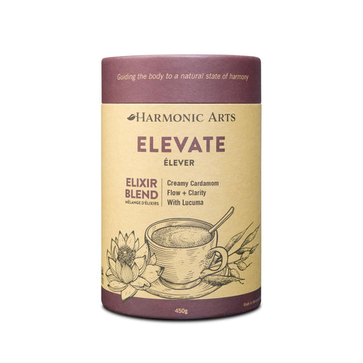 A large canister of Elevate