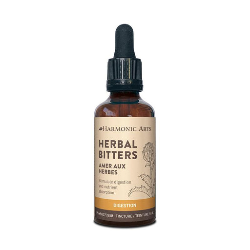 A bottle of Herbal Bitters tincture