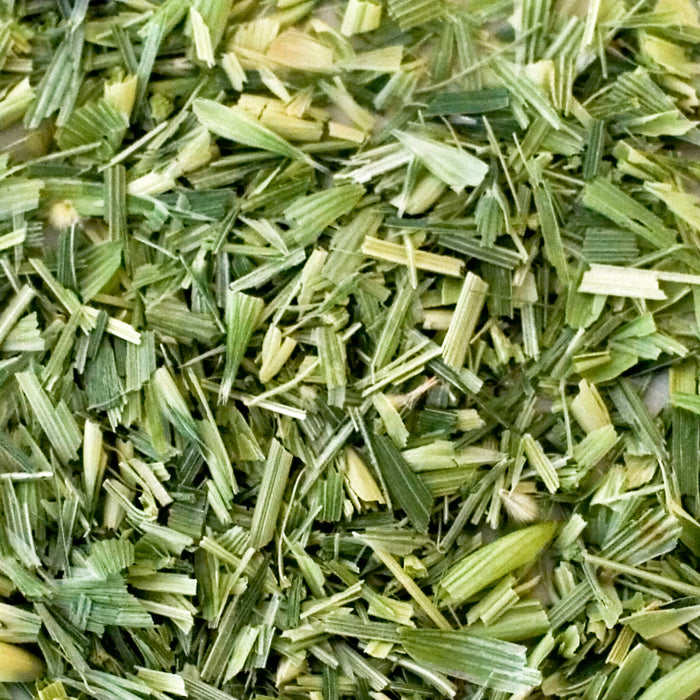 A closeup of loose Oatstraw