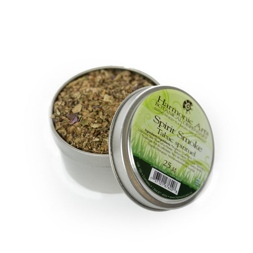 A tin of Spirit Smoke Blend