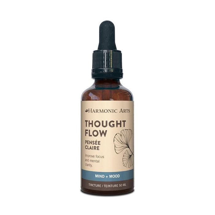 A bottle of Thought Flow tincture