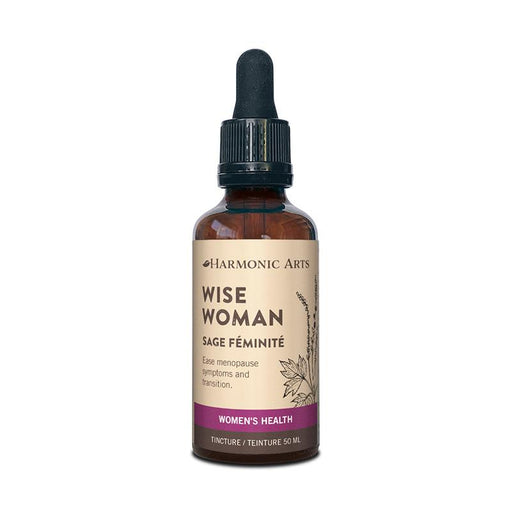 A bottle of Wise Woman tincture
