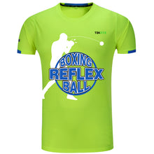 Load image into Gallery viewer, TEKXYZ Boxing Reflex Ball Theme Short Sleeve T-Shirt