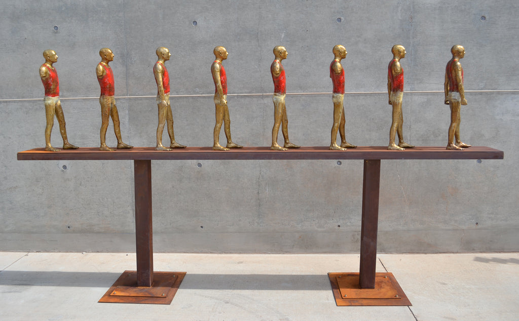 """Men In A Line"" by John Tuomisto-Bell"
