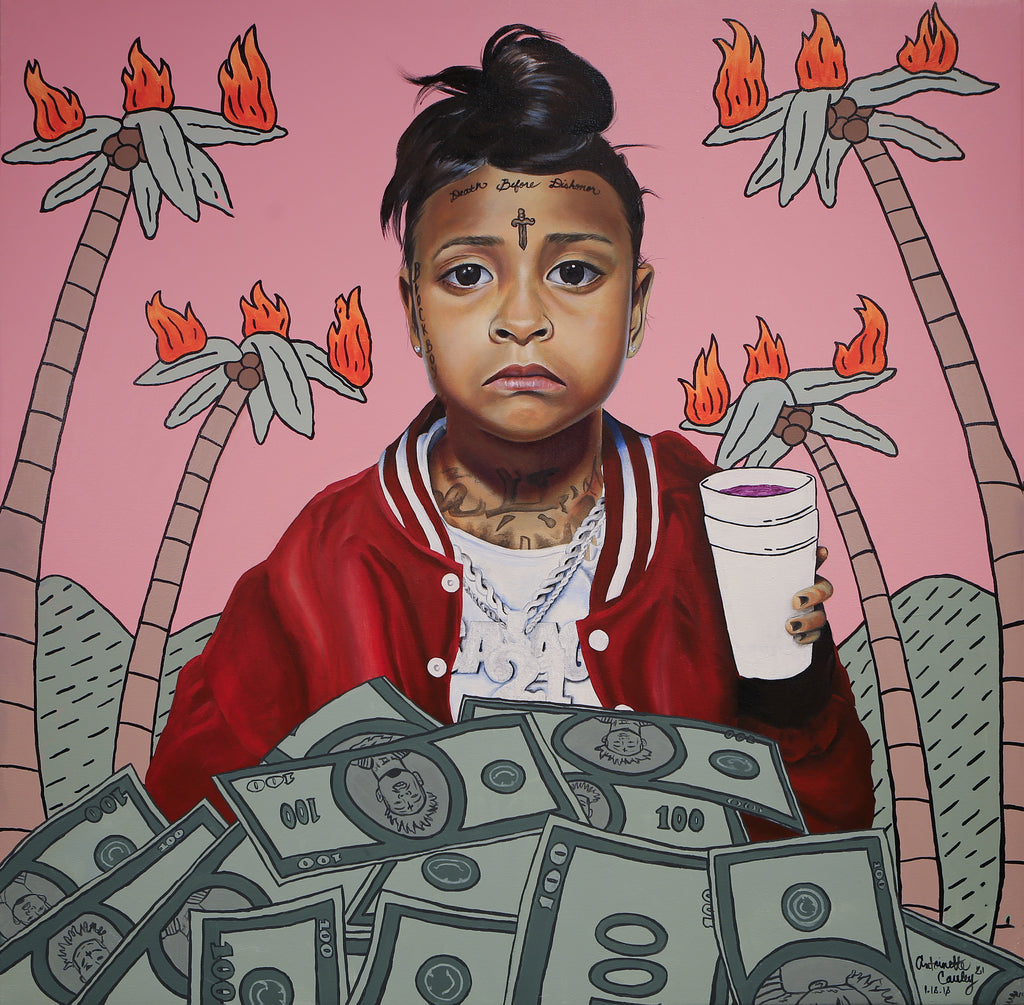 """Numb The Pain With The Money"" by Antoinette Cauley"
