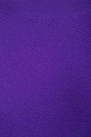 Alfa Structure Knit Purple