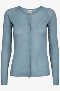 Asta Lightweight Cardigan Dove Blue