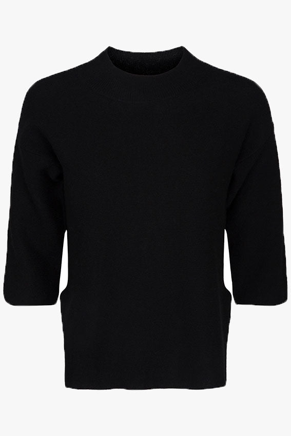 Carolina Cashmere Blouse Black