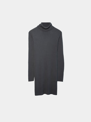 Elena Long Merino Dress