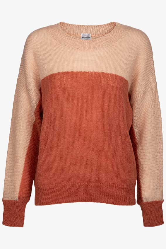 Rosa Bicolor Jumper Rusty Red