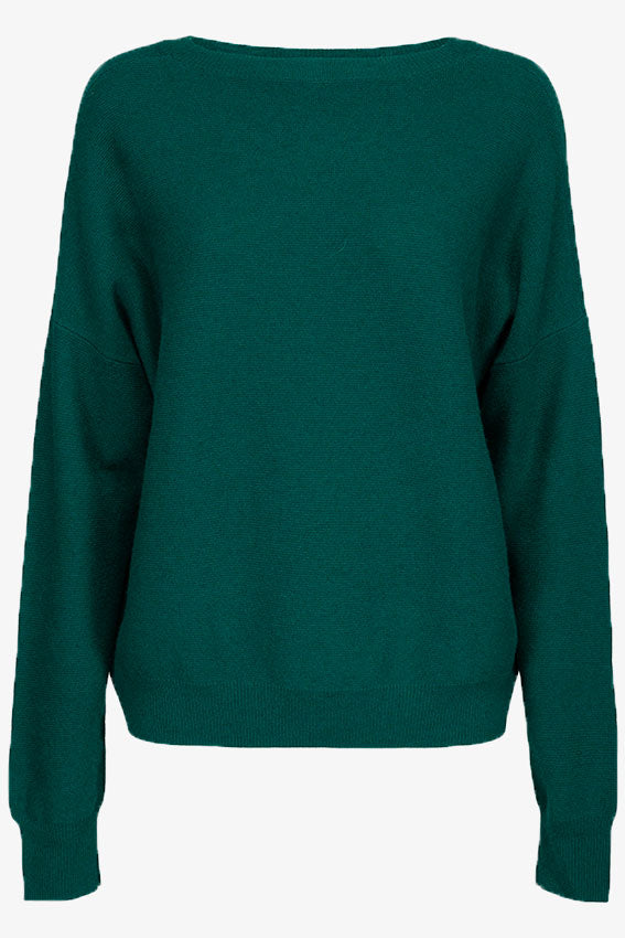 Vanessa Crew Neck Sweater Bright Green