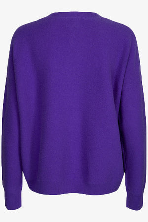 Vanessa Crew Neck Sweater Purple