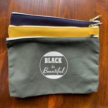 Black Is Beautiful Zipper Pouch