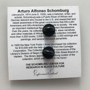 Arturo Schomburg Lapel Pin