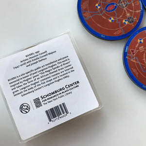 Cosmogram Coaster Set