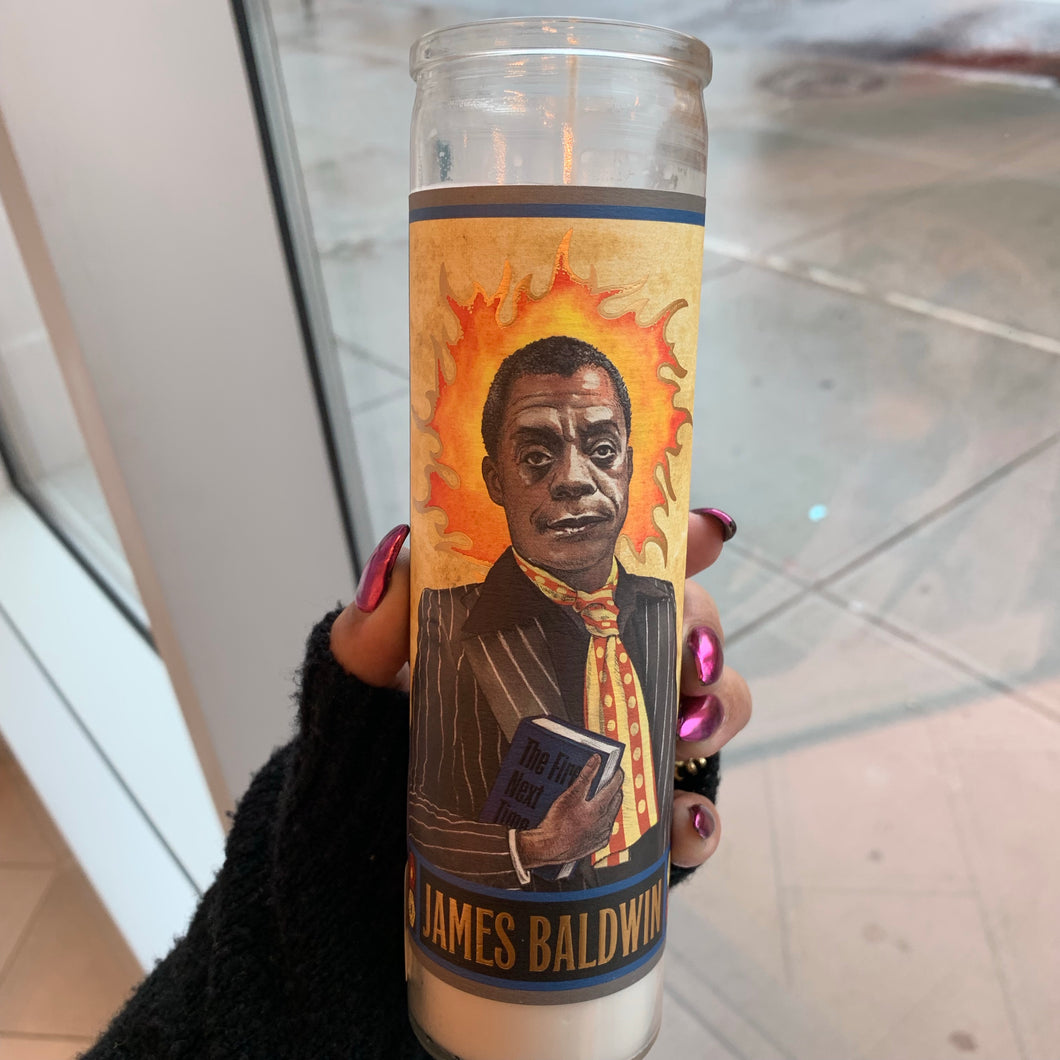 James Baldwin Candle
