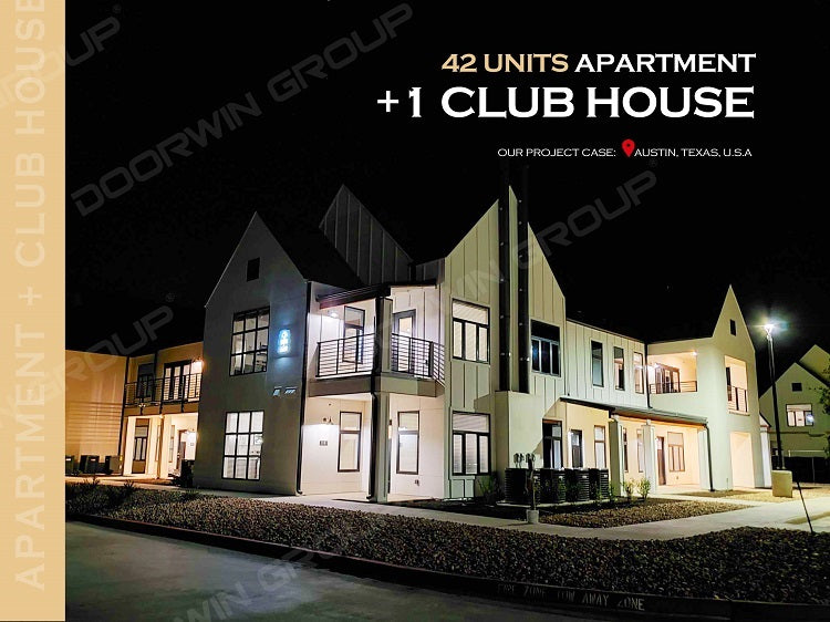 Austin Project Case- 42 Units Apartment + 1 Club House