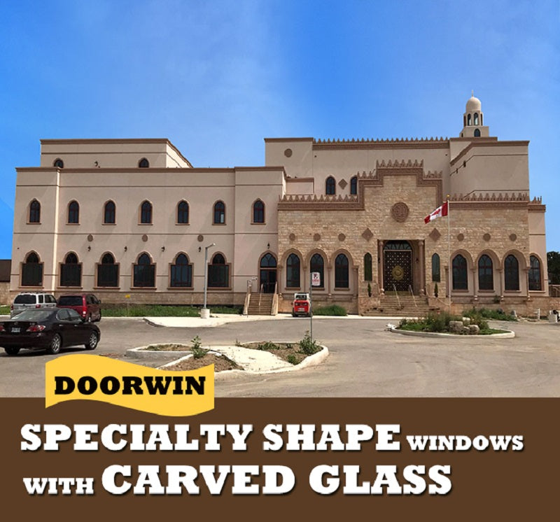 Doorwin Specialty Shapes Wood Windows --- Doorwin Project in Canada