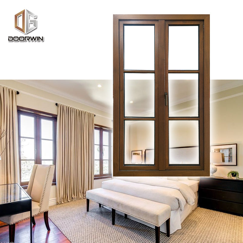 Doorwin Teak Wood Aluminum Windows
