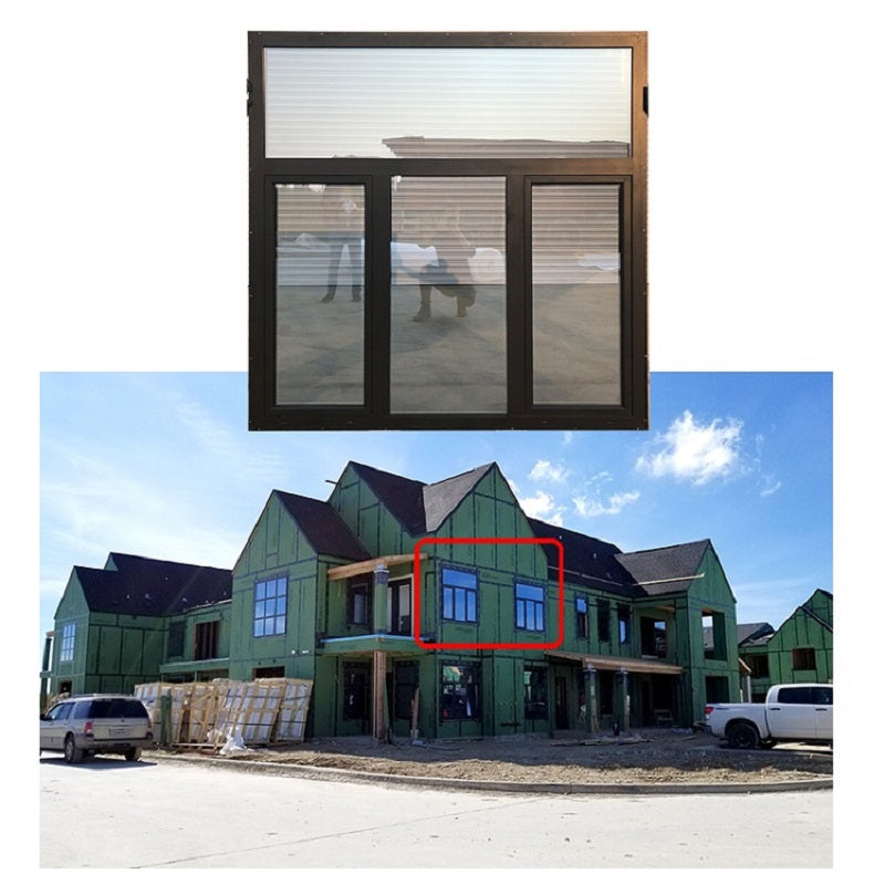Doorwin Texas Project of Tilt Turn Windows ----- Thermal Break Aluminum Windows