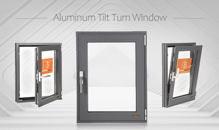 Latest Aluminum Tilt Turn House Windows With Affordable Price