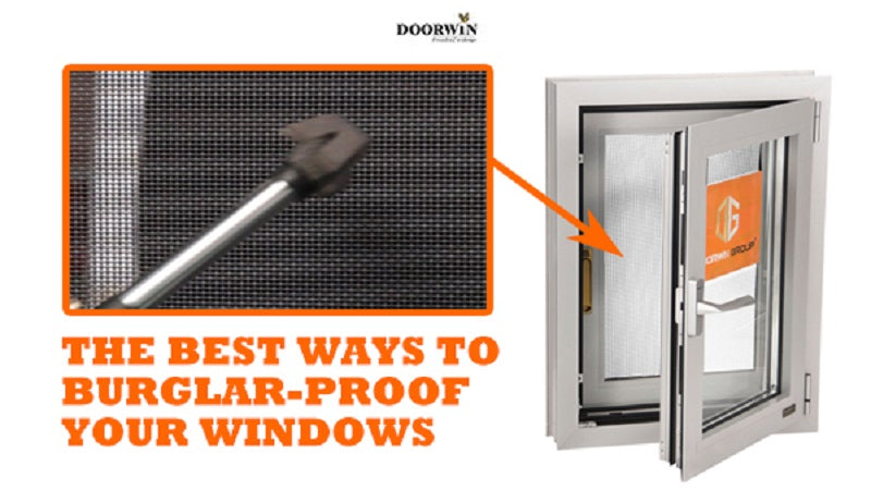 Doorwin Aluminum Burglar Proof Windows