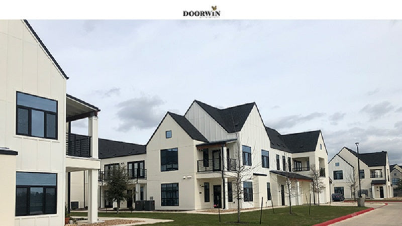 Doorwin Affordable Aluminum Tilt Turn Casement Windows