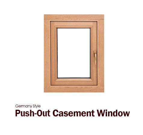 Push-Out French Casement Windows